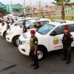 Región Callao entrega 50 camionetas y 450 radios portátiles a PNP