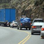 Semana Santa: Restringen paso de camiones por Carretera Central