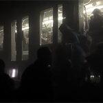 Evan Lamos es el periodista que grabó imágenes del túnel del metro (VIDEO)