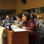 Ministra Marcela Huaita participó de reuniones internacionales en la ONU