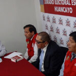 JEE de Huancayo deja al voto pedido de exclusión de Vladimiro Huaroc
