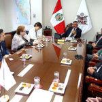 Pleno del JNE se reúne con observadores de Unión Europea y OEA