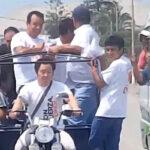 Kenji Fujimori puso en riesgo la vida de pasajeros de mototaxi (VIDEO)