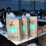 Elecciones: ONPE distribuye material electoral en Lima y Callao