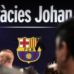 El Barza rinde homenaje a Johan Cruyff en el Camp Nou