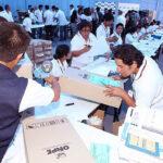 ONPE inició ensamblaje del material electoral para más de 77 mil mesas