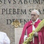Semana Santa: Papa presidió celebración litúrgica de Domingo de Ramos