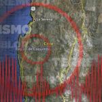 Chile: Sismo de magnitud 5.1 sacude dos regiones del norte