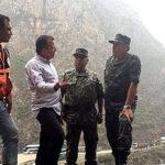 Valakivi inspeccionó trabajos en zonas afectadas de Huarochirí