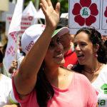 """Verónika Mendoza: """"Este Congreso no puede debatir el TPP"""""""