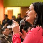 Verónika Mendoza pide a Vizcarra convocar a nuevas elecciones (VIDEO)
