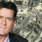 Charlie Sheen pide rebajita de los US$55.000 de pensión a hijos