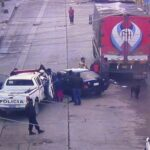 Pasco: Policía resulta herido tras accidente