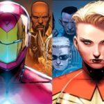 Civil War II: Conoce los equipos de Iron Man y Capitán Marvel