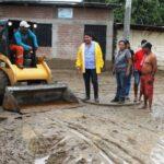 Sullana: Más de mil damnificados por lluvias