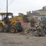 El Agustino: Recogen más de cinco toneladas de desmonte