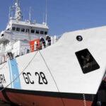 Guardacostas hunde pesquero chino y rescata a parte de tripulación