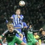 Bundesliga: Hertha de Berlín le gana por 2-0 y desplaza al Schalke