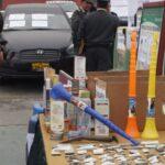 Lima: Policía decomisó más de 100 mil envoltorios de PBC