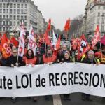 Francia: Cientos de miles marcharon contra la reforma laboral