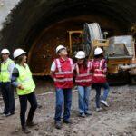 Metro de Lima: Ministro Gallardo Ku inspeccionó obras de Línea 2