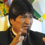 Evo Morales plantea reunión urgente de Unasur para defender a Lula