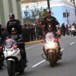 Policía Nacional recibió 500 nuevas motocicletas