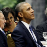 Cuba: Obama y Raùl Castro culminan día histórico con una cena de Estado