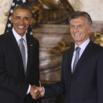 """Macri tras reunión destaca """"liderazgo inspirador"""" de Obama"""