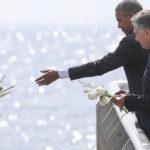 Obama y Macri visitan muro que recuerda las víctimas de la dictadura