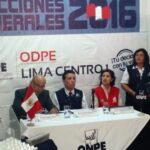 Elecciones 2016: ONPE difunde lista definitiva de miembros de mesa