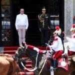 Ministro de Defensa encabezó acto de Cambio de Guardia Montada