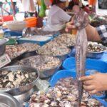 La Victoria: Fiscalizan venta de productos marinos