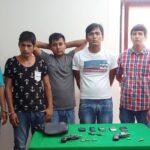Chimbote: Policía captura 6 presuntos delincuentes