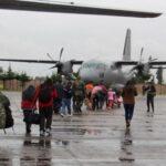 Puente aéreo: Más de 100 traslados en primer día de operación