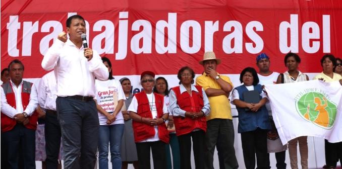 Mtpe promover derechos laborales de trabajadores del for Formulario trabajadores del hogar