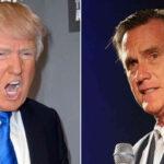 EEUU: Mitt Romney acusa a Donald Trump de ser un estafador