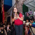 """Verónika Mendoza con propuestas responde a """"guerra sucia"""""""