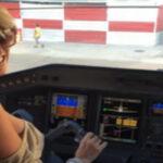 Argentina: Procesan a vedette por pilotar un avión comercial (VIDEO)