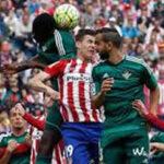 Atlético de Madrid goleó sin piedad al Betis de Juan Vargas