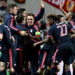 Bayern Múnich empata 2-2 con Benfica y pasa a semifinal de la Champions