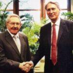 Cuba: Canciller británico y Raúl Castro reestructuraron deuda de la isla