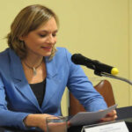 Senadora Carolina Goic asume presidencia de la DC chilena