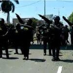 """Aniversario de Chiclayo: espectacular coreografía de policías """"Robocop"""" (VIDEO)"""