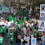 Argentina: Centrales sindicales marchan contra el gobierno este viernes