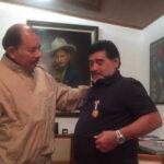 Maradona recibe la máxima condecoración que otorga Nicaragua
