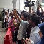 FIP: Periodistas maldivos detenidos por manifestarse contra represión de medios