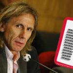 Selección Peruana: Ricardo Gareca convoca a 40 jugadores para Copa América Centenario