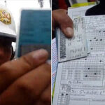 Mototaxista se negó a firmar multa porque había errores de ortografía (VIDEO)