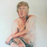 EEUU: Prohíben cuadro de Trump desnudo y con genitales diminutos